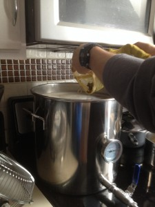 Adding Used Dry Hops to the Boil for Bitterness