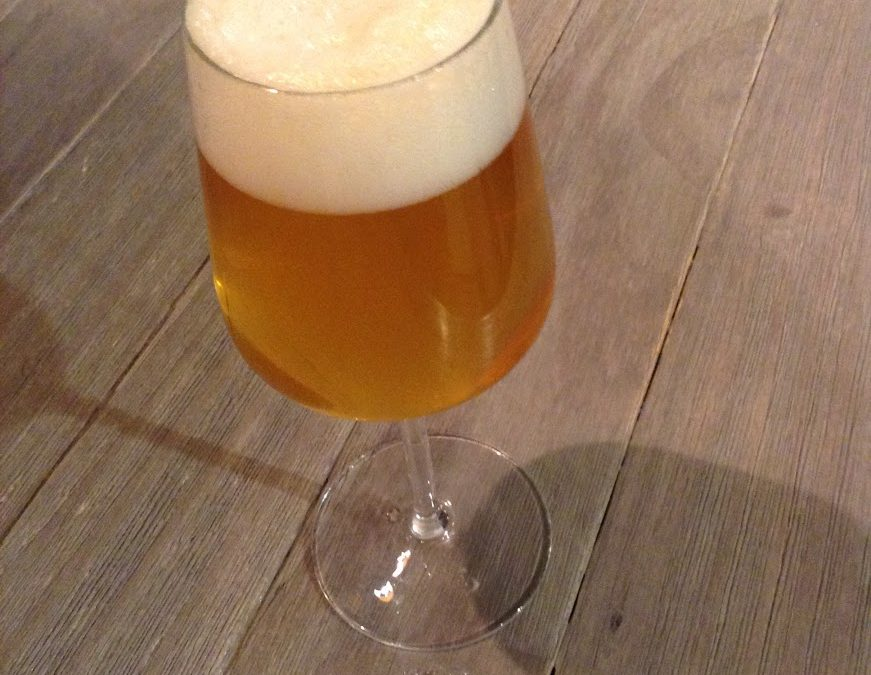 Mélange Sour Blend, Jarrylo Dry Hops, With a Bottle of Chardonnay