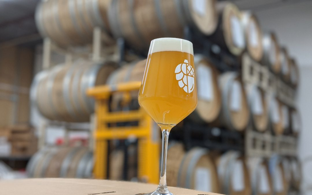Cashmere DIPA with Conan and Hefeweizen Yeast